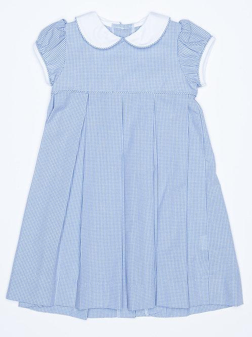 Little English Charlotte Dress-It Blue 3t,4t,5