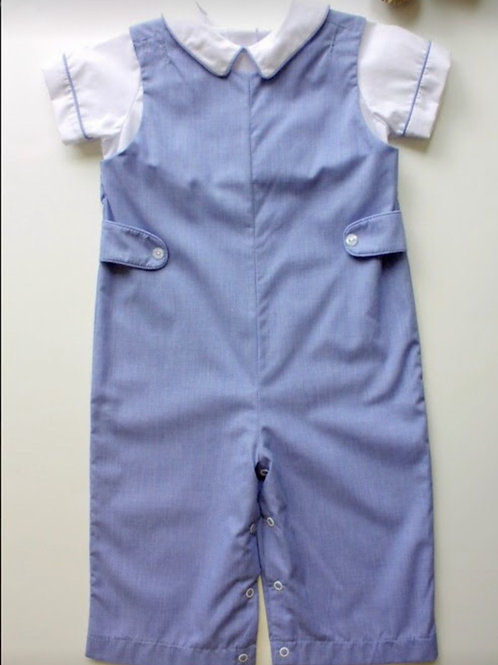 Little English Royal Parker Overall(4t)