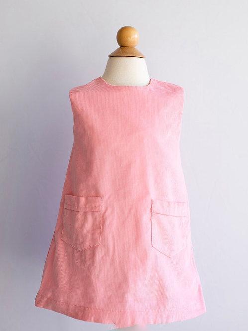 Peggy Green Ella Jumper- pink corduroy