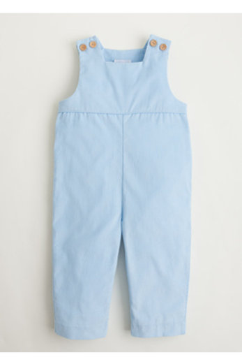 Little English Light Blue Cord Overall/Longall 3t