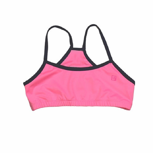 Set Athleisure Briana Sports Bra in Pink and Navy