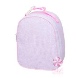 Pink Seersucker Gumdrop Lunchbox by Mint