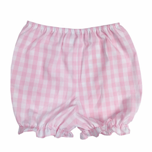 Lullaby Set Pink Plaid Bloomer