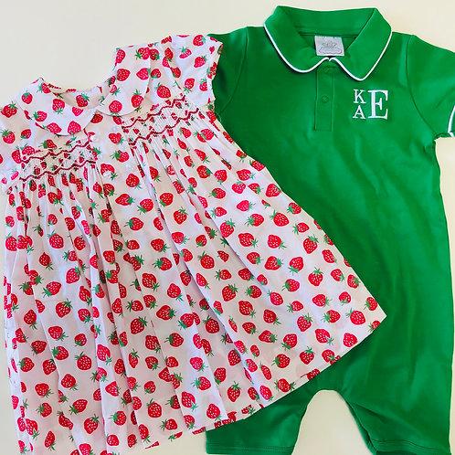 QE Strawberry Dress
