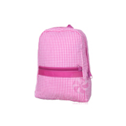 Hot Pink Gingham Small/Preschool Backpack by Mint