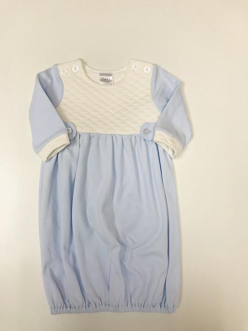 Paty Knit Jacquard Light Blue  Gown