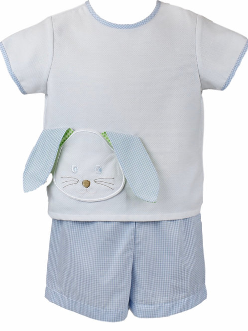 Lullaby Set Bunny Face Short Set