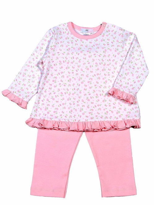 Baby Bliss Pima Alice Floral Pant Set