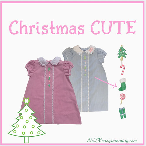 Lullaby Set Dress Hot Pink Mini Gingham with Placket