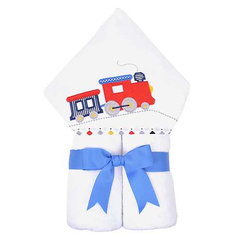 Train Hooded Towel-3 Marthas