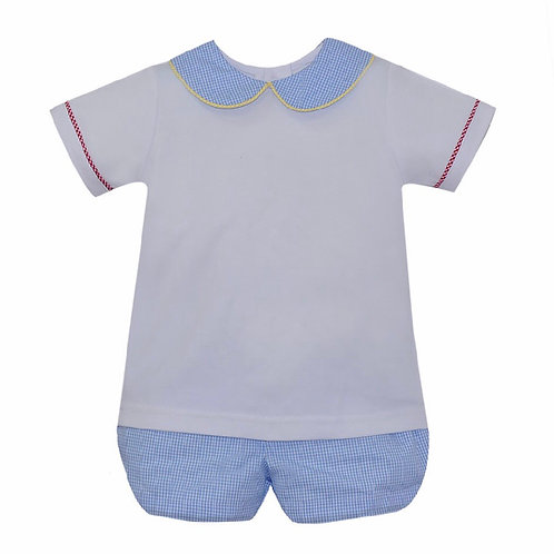 Lullaby Set Mulit-Color Bloomer Set (picture show shorts)
