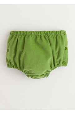 Little English Green Cord Diaper Covers