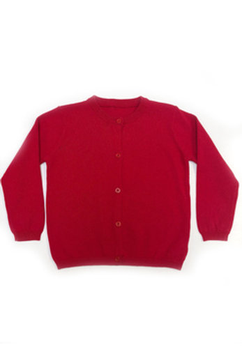 Little English Red Cardigan Sweater 2t, 3t