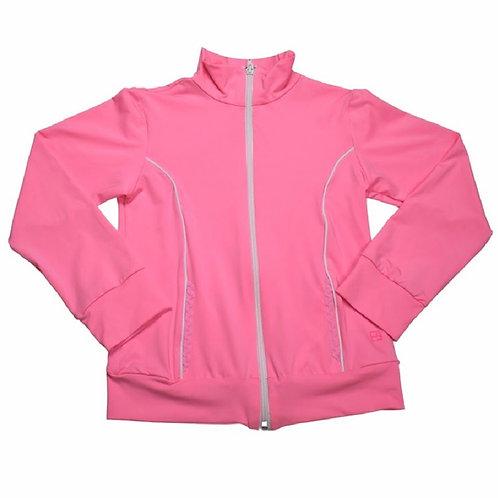 Set Athleisure Pink Athletic Juliet Jacket