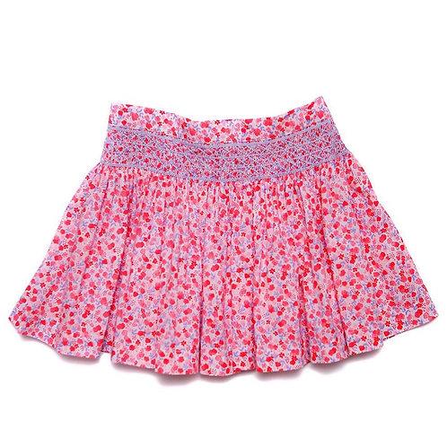 QE Pink Floral Skirt