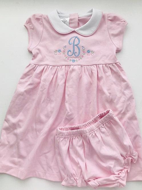 Bambinos Pink Pima Twirly Dress 2t-5