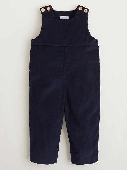 Little English Navy Overall 12 mo