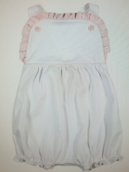 Baby Bliss White with Pink Ruffle Sun Bubble