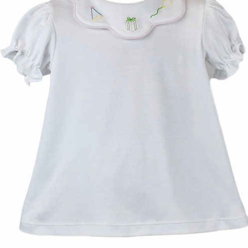 Lullaby Set Party Scallopped Knit Shirt