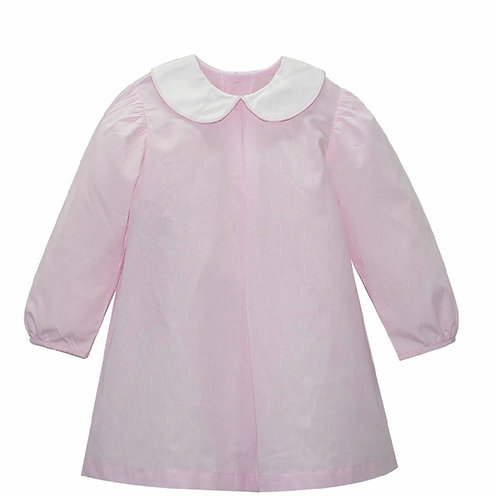 Lullaby Set Pink Gingham Peter Pan Dress 2t, 3t, 4t