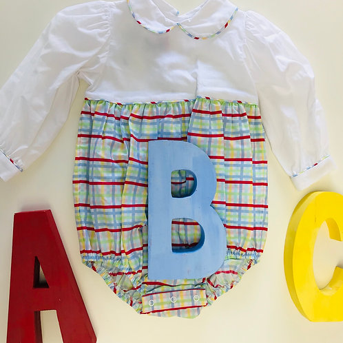 Lullaby Set Plaid Girl Bubble 2t, 3t