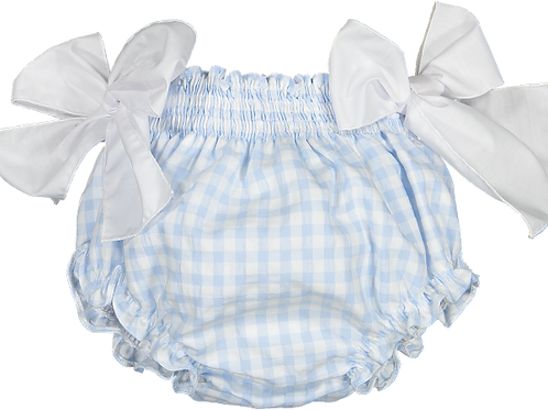 Sal & Pimenta Bluebell Gingham Bubbly Shorts