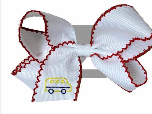 Lullaby Set School Bus Bow
