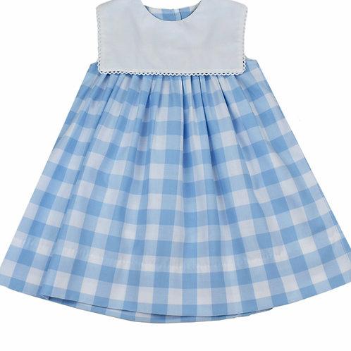 Lullaby Set Blue Plaid Dress