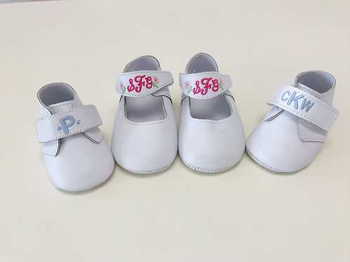 Baby Shoes with Monogram
