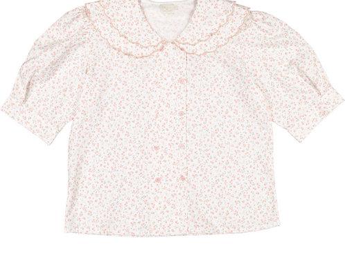 Sal & Pimenta Pink Itsy Bitsy Floral Shirt-Momma