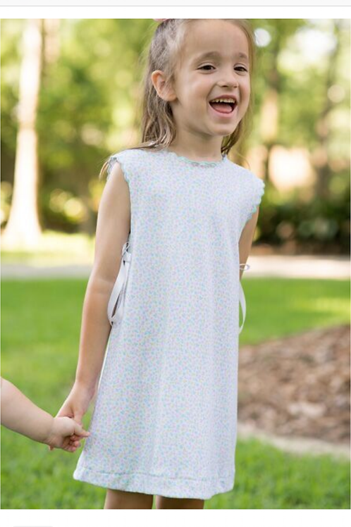 Lullaby Set Floral Knit Scallop Dress 2t