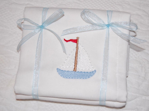 Burp Cloth with Name and Design