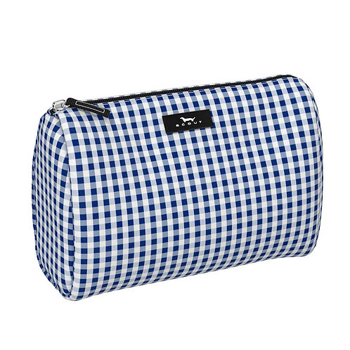 Scout Cosmetic-Navy Gingham