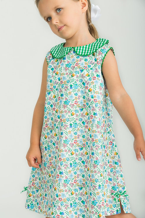 Little English Augusta Floral Lily Dress