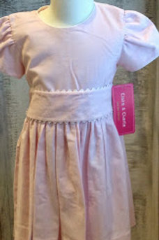 Pink Cord Sash Dress 4t