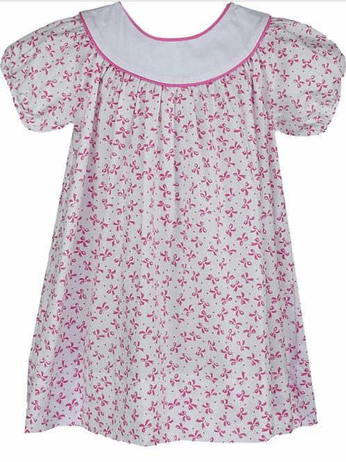 Lullaby Set Pink Bow Print Dress
