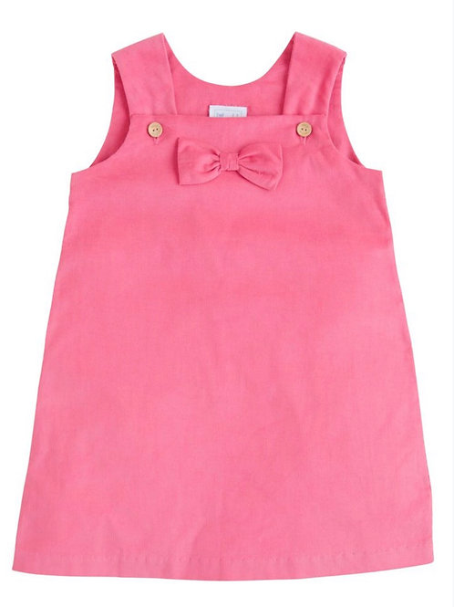 Little English Hot Pink Cord Bow Jumper
