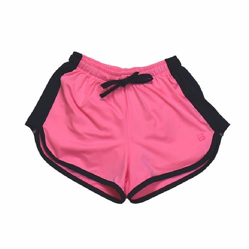 Set Athleisure Pink and Navy Annie Athletic Shorts