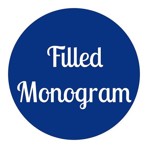 Filled Monogram