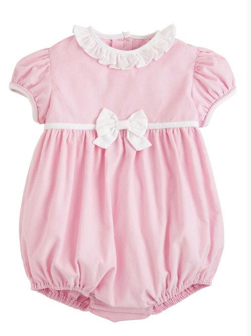 Little English Pink Cord Caroline Bow Bubble