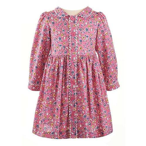 Rachel Riley Flower Garden Button-Front Dress