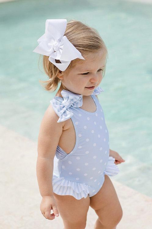 Sal & Pimenta Seas the Day Blue Dot Swimsuit