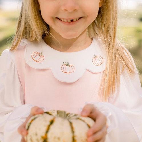 Lullaby Set Pumpkin Pima Girl Shirt