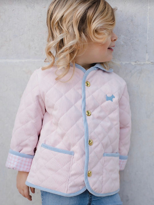 Sal & Pimenta Pink Quilted Jacket