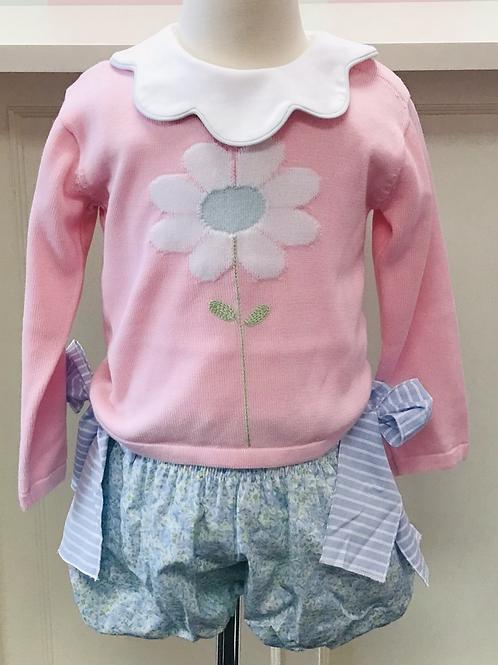 Lullaby Set Daisy Sweater 12, 18, 24 mo, 3t