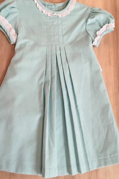 Anvy Aqua Cord Louisa Dress