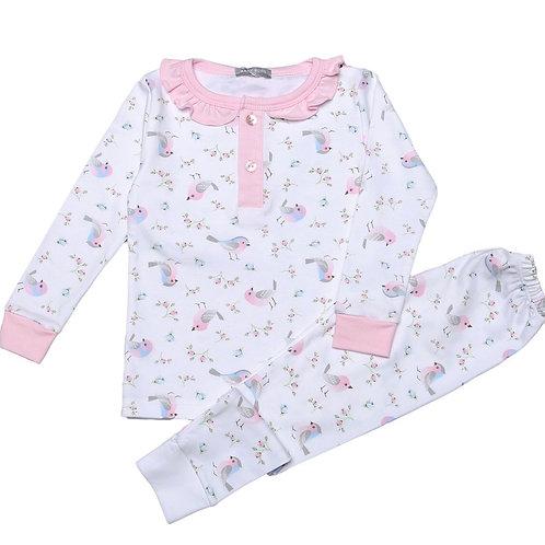 Baby Bliss Pima Little Birds Loungewear 2t, 4t