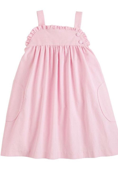 Little English Pink Cord Ruffled Jumper
