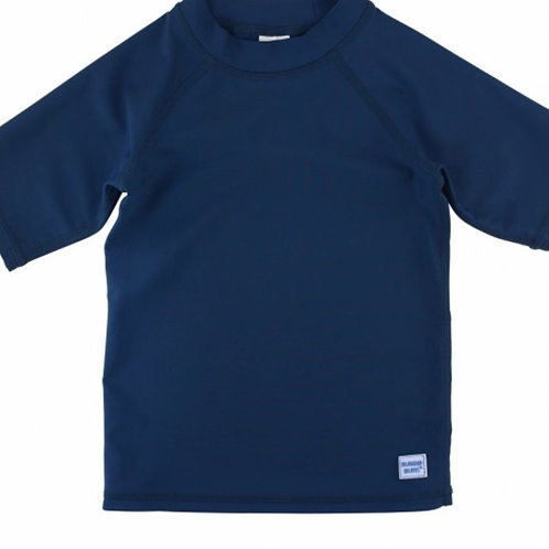 Rugged Butts Navy Short-Sleeve Rash Shirt