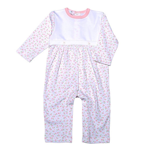 Baby Bliss Pima Alice Floral Playsuit